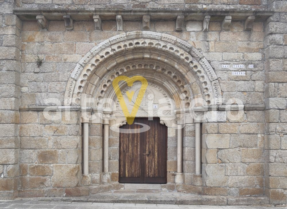 iglesia de oseiro