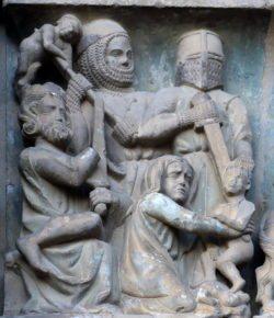 matanza de los inocentes, gótico