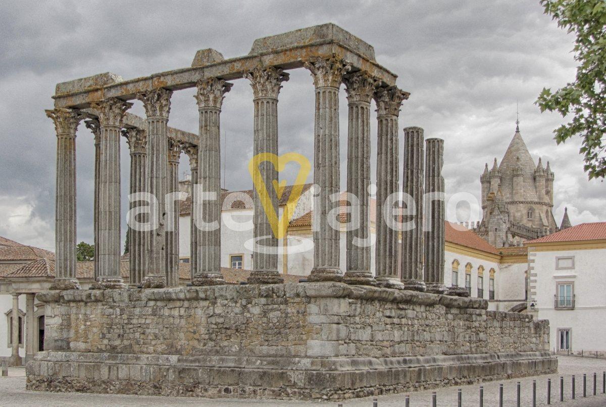 templo romano de évora