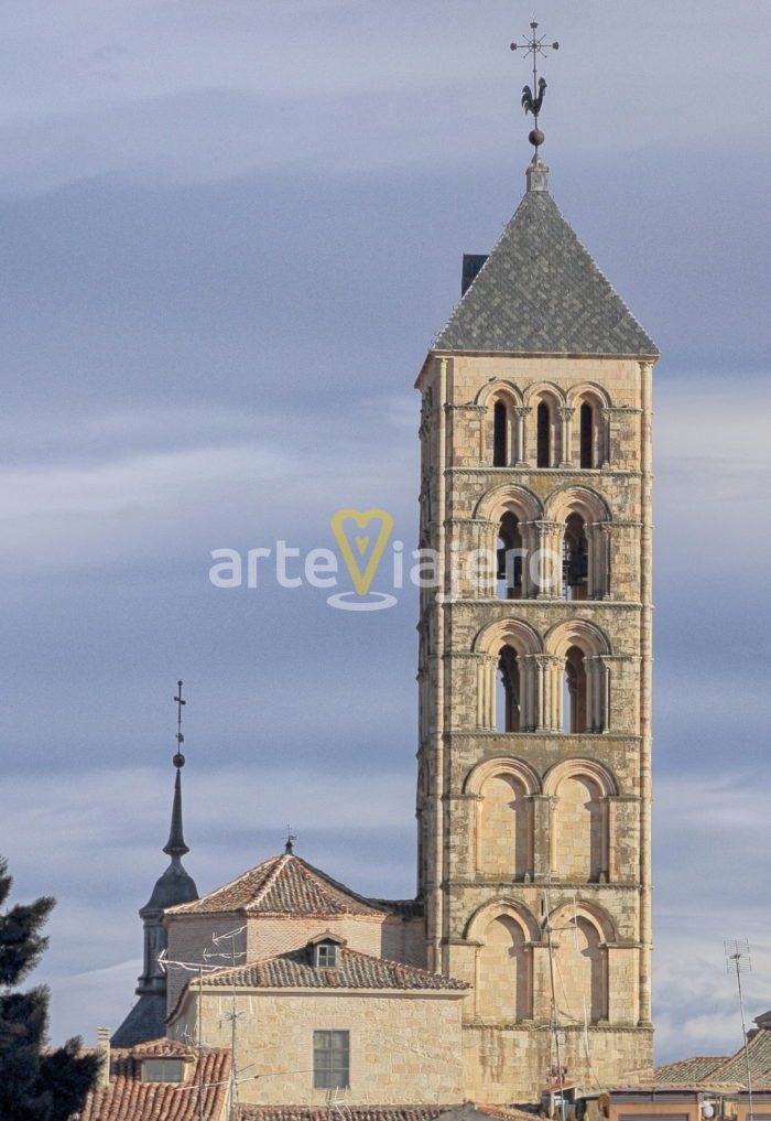 torre de la iglesia de san esteban, segovia