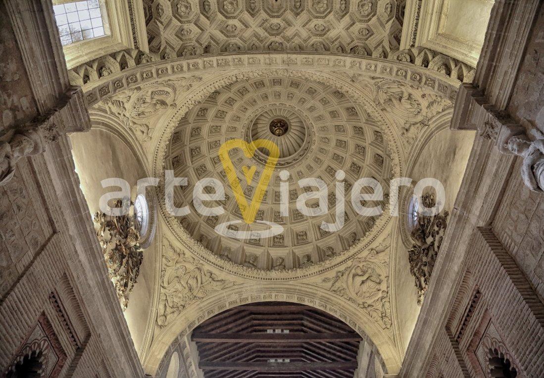 cúpula de la iglesia de san román
