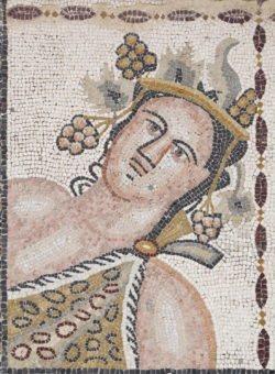 otoño mosaico de las cuatro estaciones