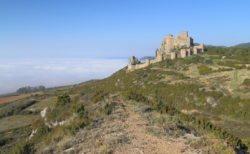 panorámica castillo de loarre