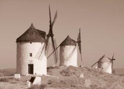 molinos de viento la mancha