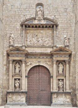 fachada de la colegiata de daroca