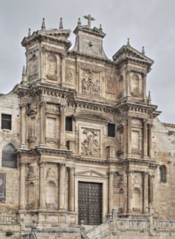 fachada barroca gumiel de izán