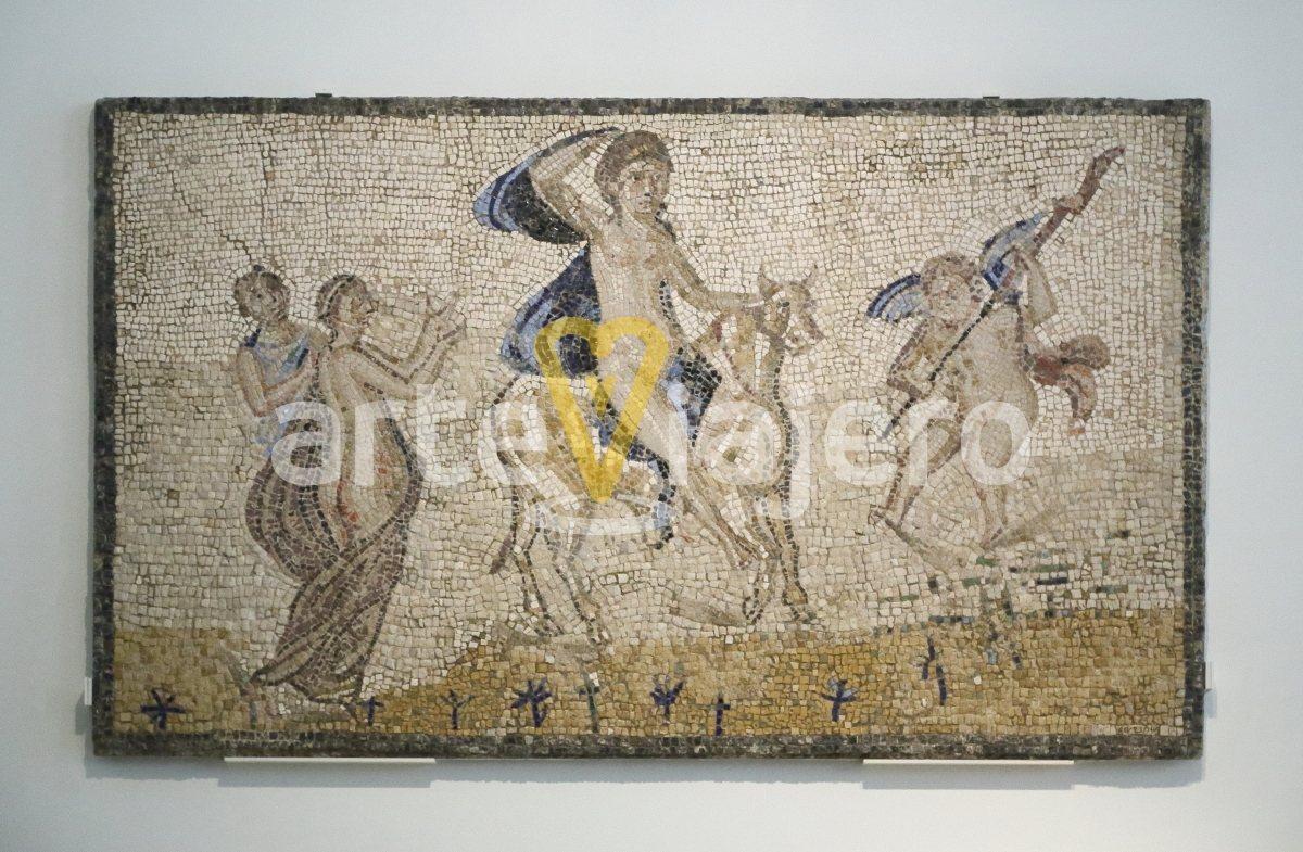 rapto de europa mosaico romano