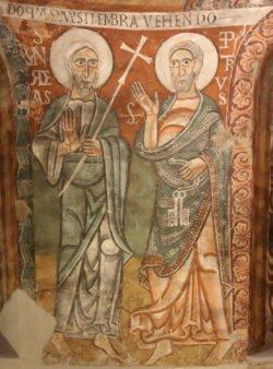 pinturas románicas seo de urgell