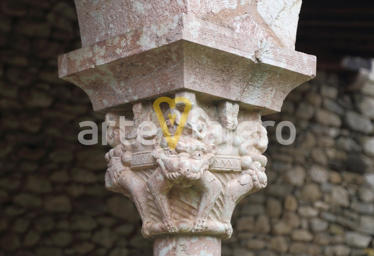 chapiteaux saint michel de cuixá
