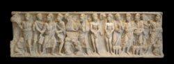 sarcófago paleocristiano de san justo de la vega