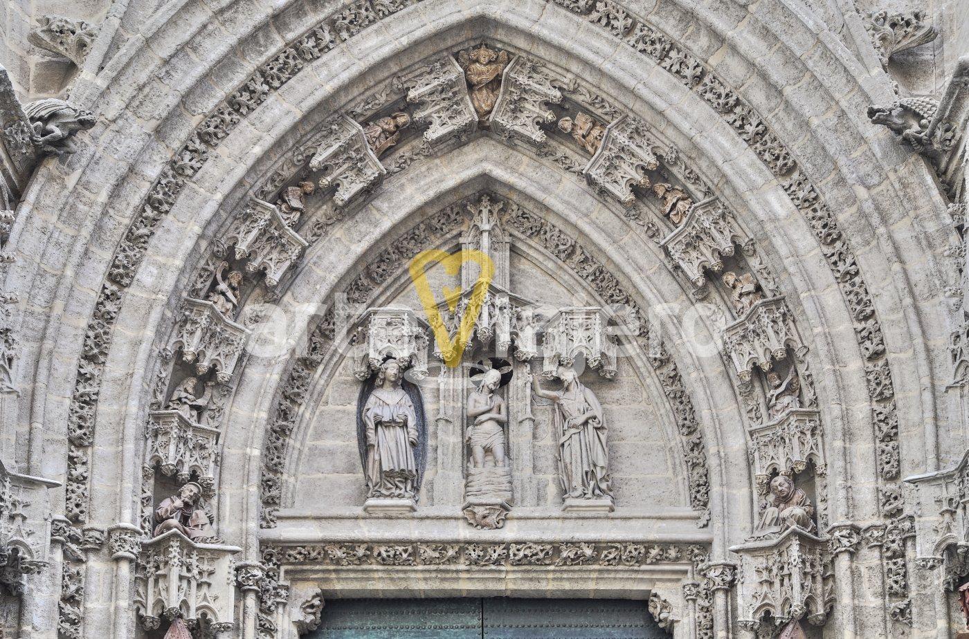 tímpano gótico