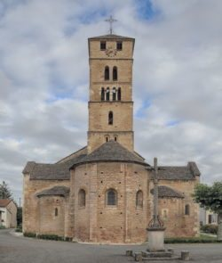 románico lombardo en francia