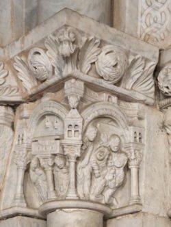 capitel con la jerusalén celeste