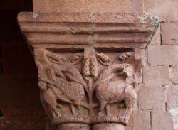 capitel románico tiermes