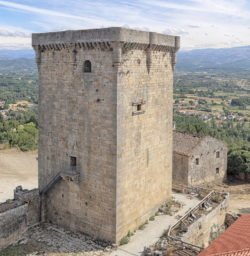 torre del castillo de monterrei