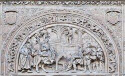 tímpano catedral nueva de salamanca