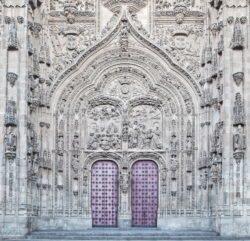 portada catedral nueva de salamanca