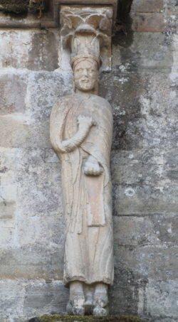 estatua del abad florencio