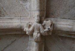 clave de bóveda románico