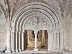 portada románica de la catedral de tarragona