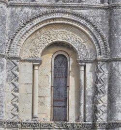 iglesia de notre-dame de rioux, rioux