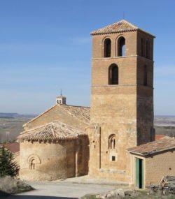 ábside de la iglesia de san miguel