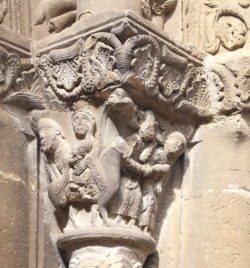 capitel huida a egipto