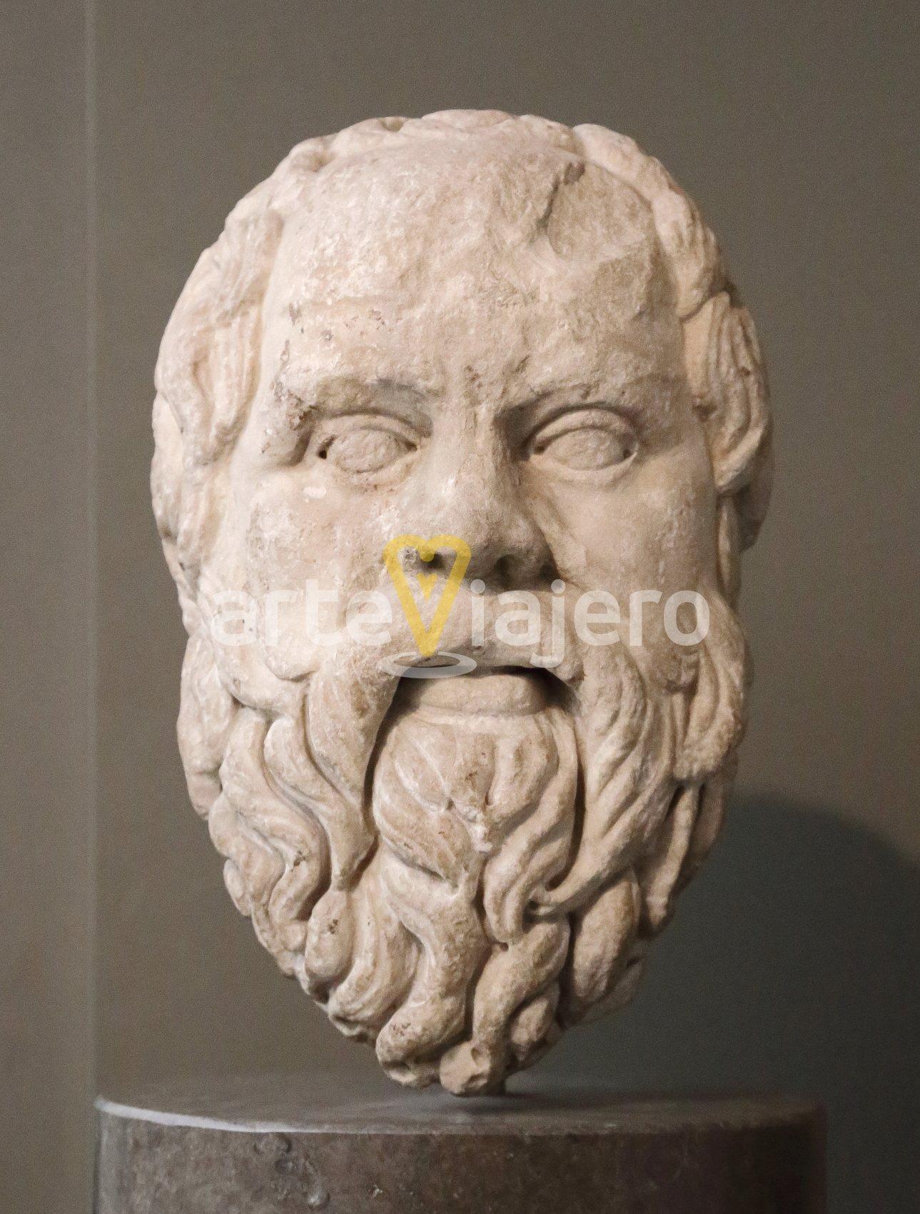 retrato de sócrates