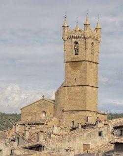 torre, iglesia de san martín uncastillo