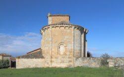 ábside románico de arenillas