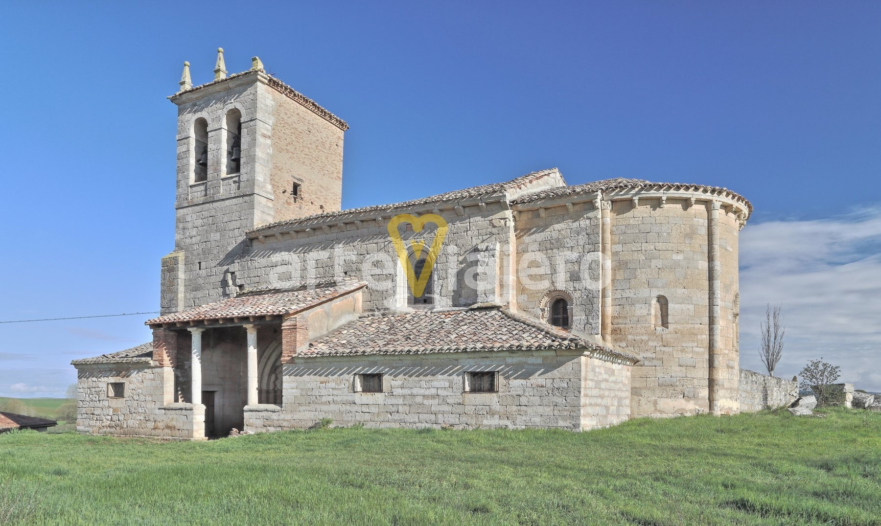 iglesia de arenillas de villadiego