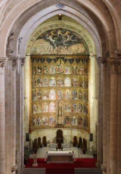 interior de la catedral vieja de salamanca
