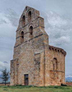 espadaña, ermita de san fagún, los barrios de bureba