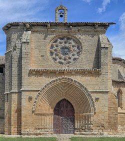 fachada iglesia de grijalba