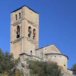 iglesia de santa maría de baldós, montañana