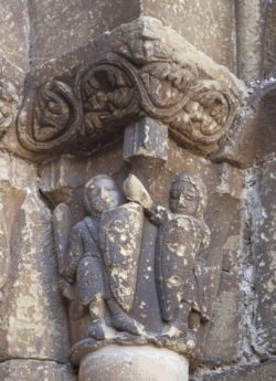 capitel iglesia de biota