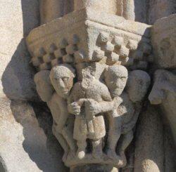 capitel románico ansemil