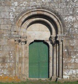 portada románica ansemil