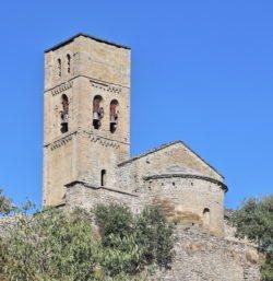 ábside iglesia de santa maría de baldós, montañana