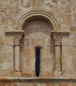 ventana del presbiterio, ermita de San Facundo