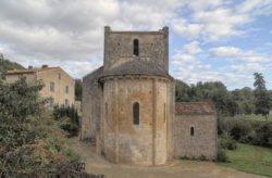 église saint romans lès melle