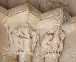capiteles románico de guadalajara