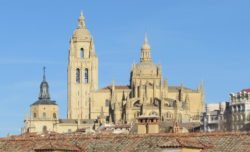 ábside de la catedral de segovia