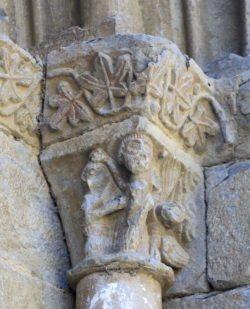 capiteles de la ermita de san juan