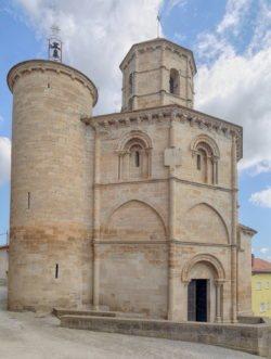 iglesia del santo sepulcro, torres del río