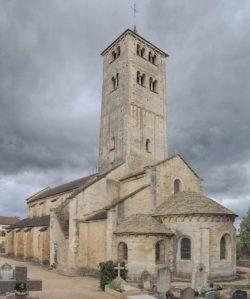 église saint-martin de chapaize