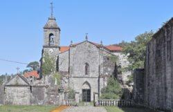 monasterio de santa maría de melón, iglesia