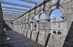 monasterio de santa maría de melón, claustro