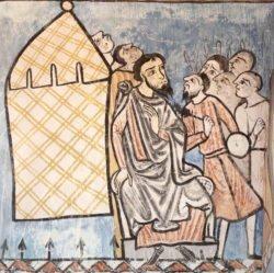 pinturas monasterio de valbuena