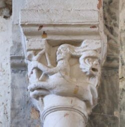 capitel con centauro, varenne
